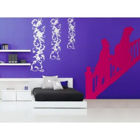 Figuras Escalera imagen vinilo decorativo