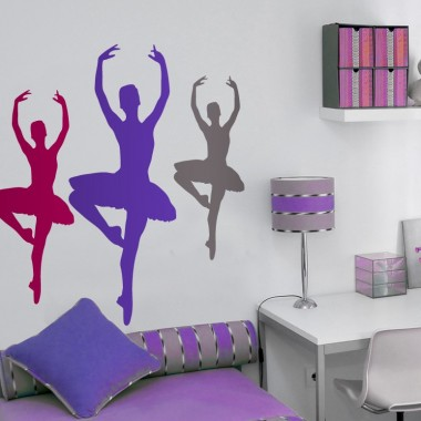 Bailarina Ballet IV imagen vinilo decorativo