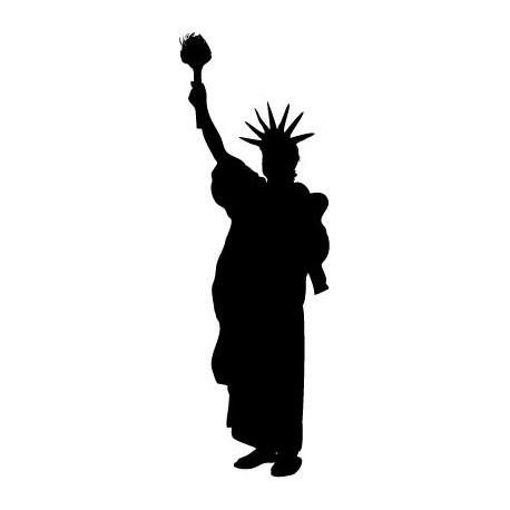 vinilos imagen producto Estatua de la Libertad II