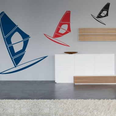 pegatina decorativa Windsurf Motivo