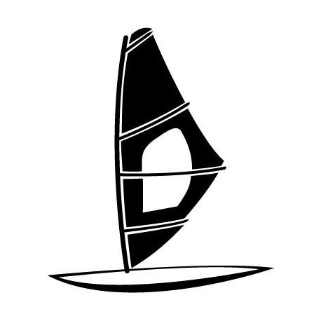 vinilos imagen producto Windsurf Motivo