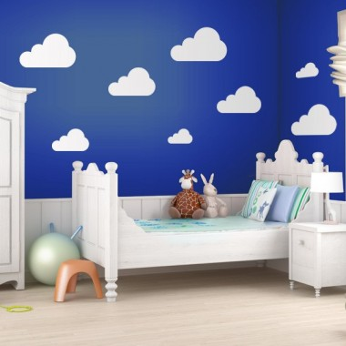 vinilo decorativo Nube Motivo VI