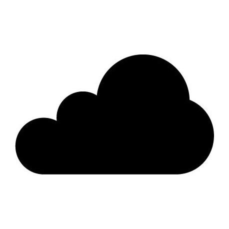 pegatina decorativa Nube Motivo VI