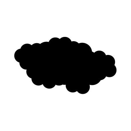 pegatina pared Nube Motivo VII