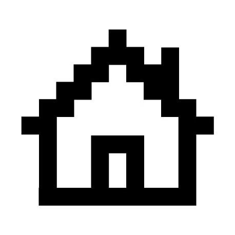 pegatina decorativa Icono Inicio