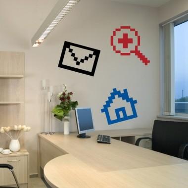 Icono Mensaje imagen vinilo decorativo