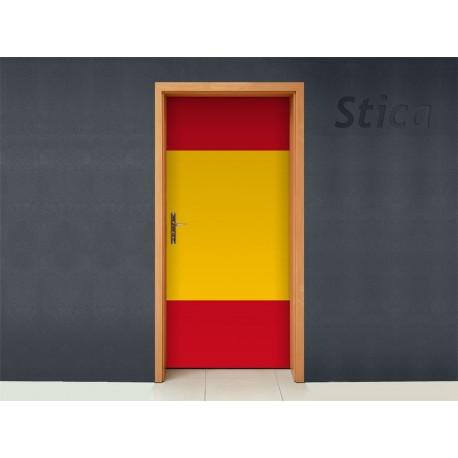 España para Puerta imagen vinilo decorativo