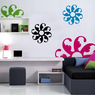 adhesivo decorativo Geometría Floral II