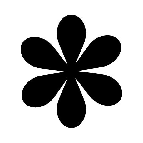 vinilo decorativo Geometría Floral IV