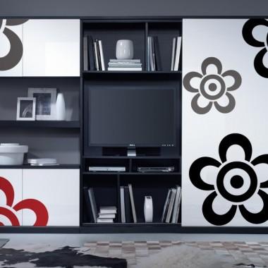 pegatina decorativa Geometría Floral VI