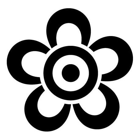 vinilos imagen producto Geometría Floral VI