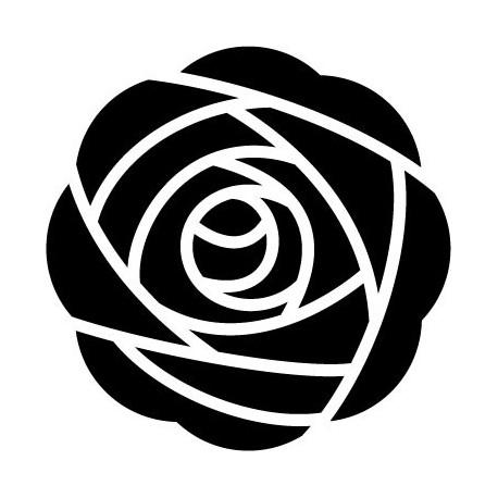 Geometría Floral VII imagen vinilo decorativo