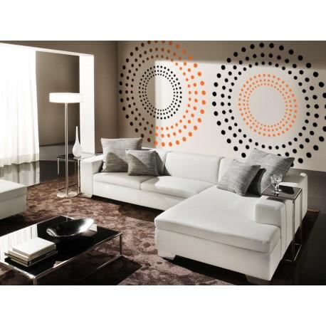 Mandala III adhesivo decorativo ambiente