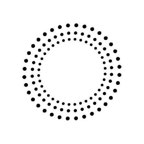 Mandala III decoración con vinilo