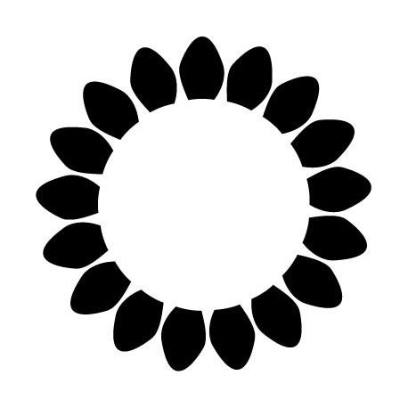 pegatina decorativa Geometría Floral VIII