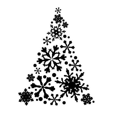 adhesivo decorativo Árbol de Navidad III