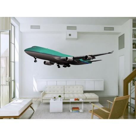 Avión Pegatina I imagen vinilo decorativo