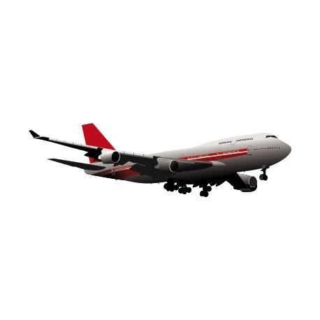 Avión Pegatina II producto vinilos