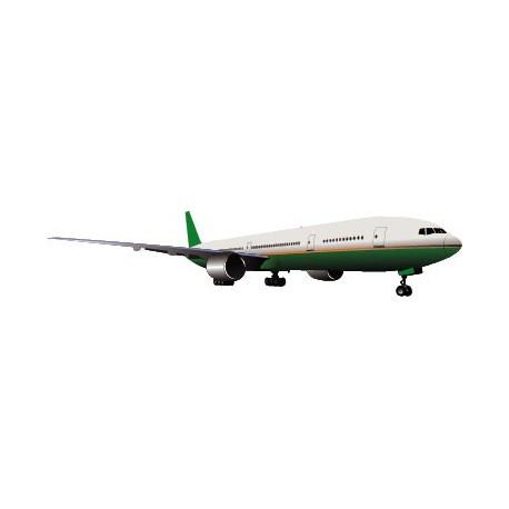 Avión Pegatina IV imagen vinilo decorativo