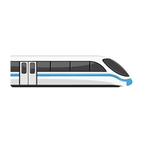 Tren Pegatina imagen vinilo decorativo
