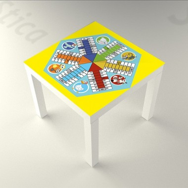 Parchis de 6 Animalitos de 55 x 55 decoración con vinilo