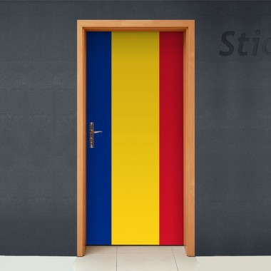Rumania para Puerta adhesivo decorativo ambiente