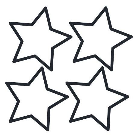 vinilo decorativo Estrellas Perfil