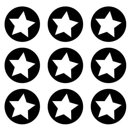vinilos imagen producto Circulo y Estrella