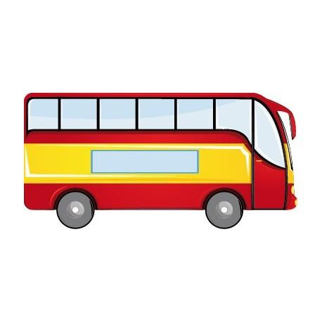 adhesivo decorativo Autobús Pegatina