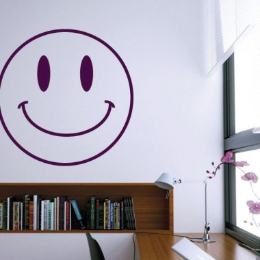 adhesivo decorativo Vinilo Smiley