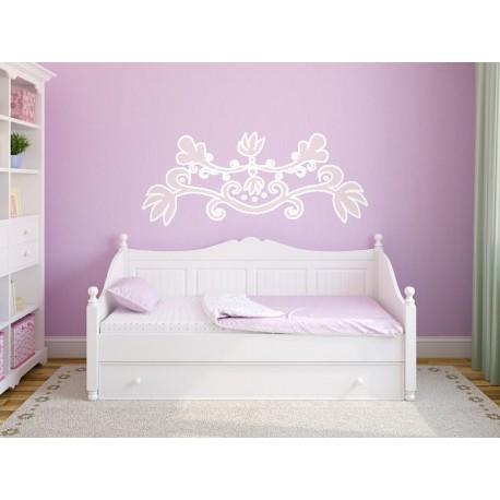vinilos imagen producto Ornamento Rosa