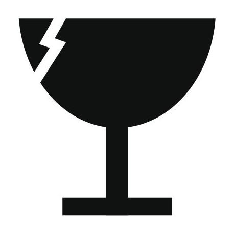 vinilos imagen producto Símbolo Fragil