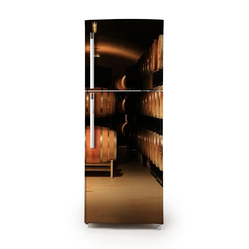 Vinilo barriles para frigor fico for Vinilos adhesivos para frigorificos