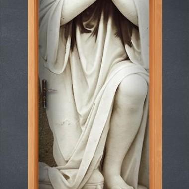 Fotomural Angel Escultura decoración con vinilo