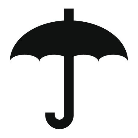 vinilo decorativo Símbolo Paraguas