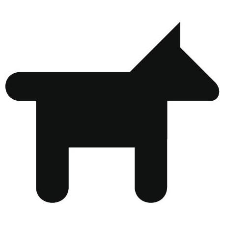 vinilos imagen producto Símbolo Perros
