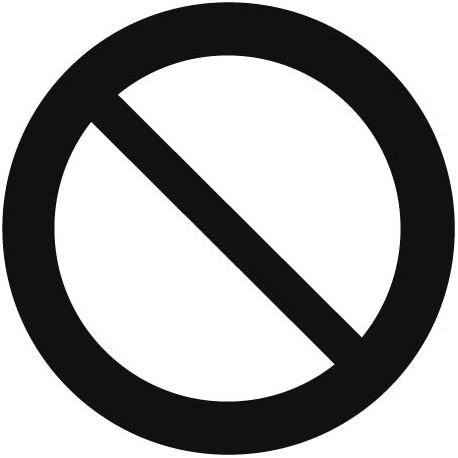 Símbolo Prohibido imagen vista previa