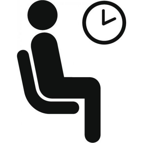 vinilos imagen producto Símbolo Sala de Espera