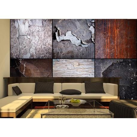 Fotomural Collage Texturas adhesivo decorativo ambiente