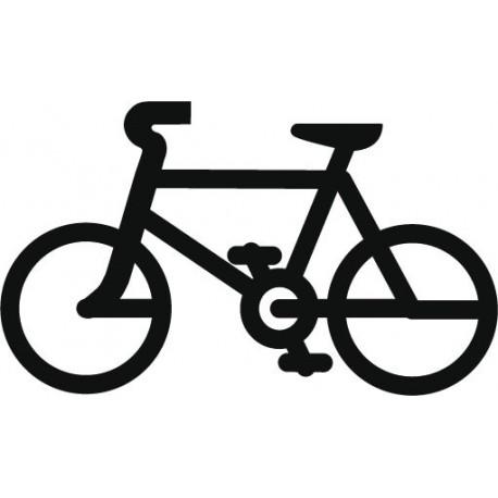 Símbolo Bicicleta producto vinilos