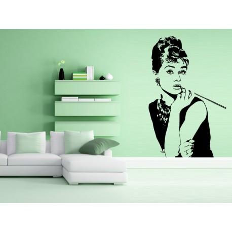 vinilo decorativo Audrey Hepburn I