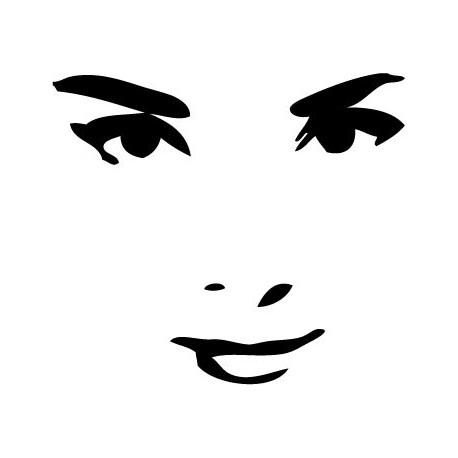 Audrey Hepburn III adhesivo decorativo ambiente