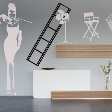 vinilo decorativo Fotograma Cine I