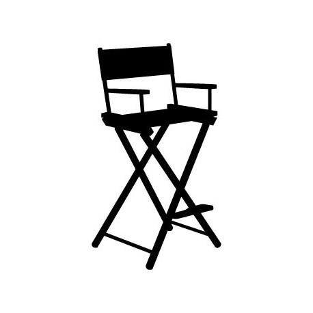Vinilo silla director de cine - Vinilos de cine ...