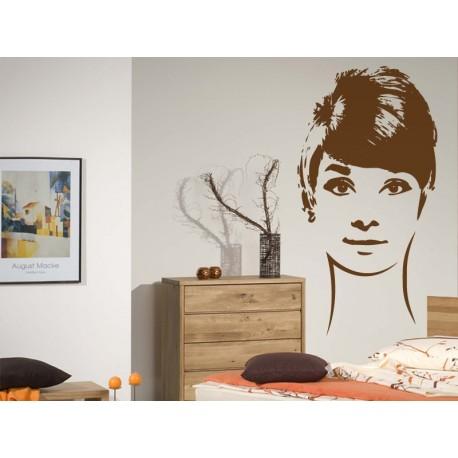 vinilo decorativo Audrey Hepburn VII