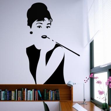 adhesivo decorativo Audrey Hepburn VIII