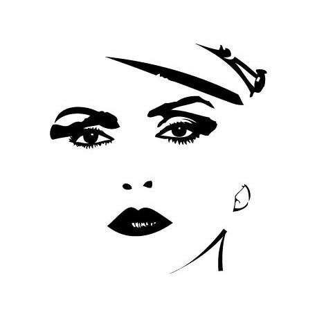 Blondie Motivo II decoración con vinilo