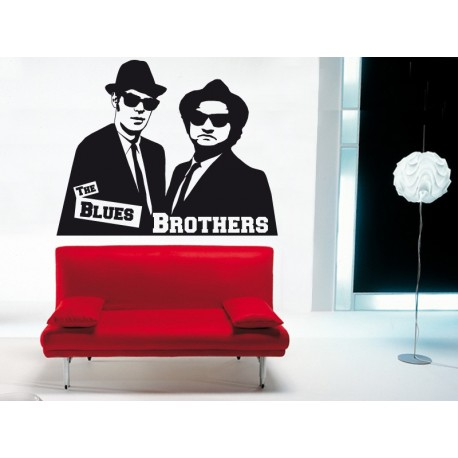 adhesivo decorativo The Blues Brothers