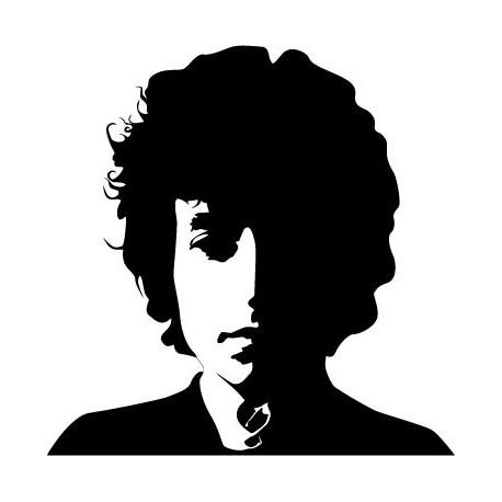 Bob Dylan adhesivo decorativo ambiente