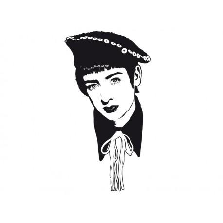 pegatina pared Boy George